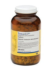A pot of Temaril-P tablets