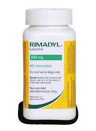 Rimadyl container